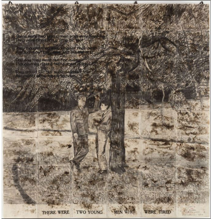 Gilbert & George « There were Two Young Men, April 1971 »