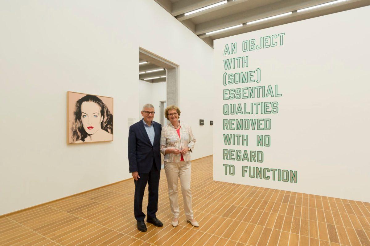 «Schau, ich bin blind, schau.» De Rémy Zaugg à John Baldessari – la collection Hans et Monika Furer