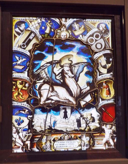 Lumineuses figures Dessins et vitraux d'Holbein à Ringler
