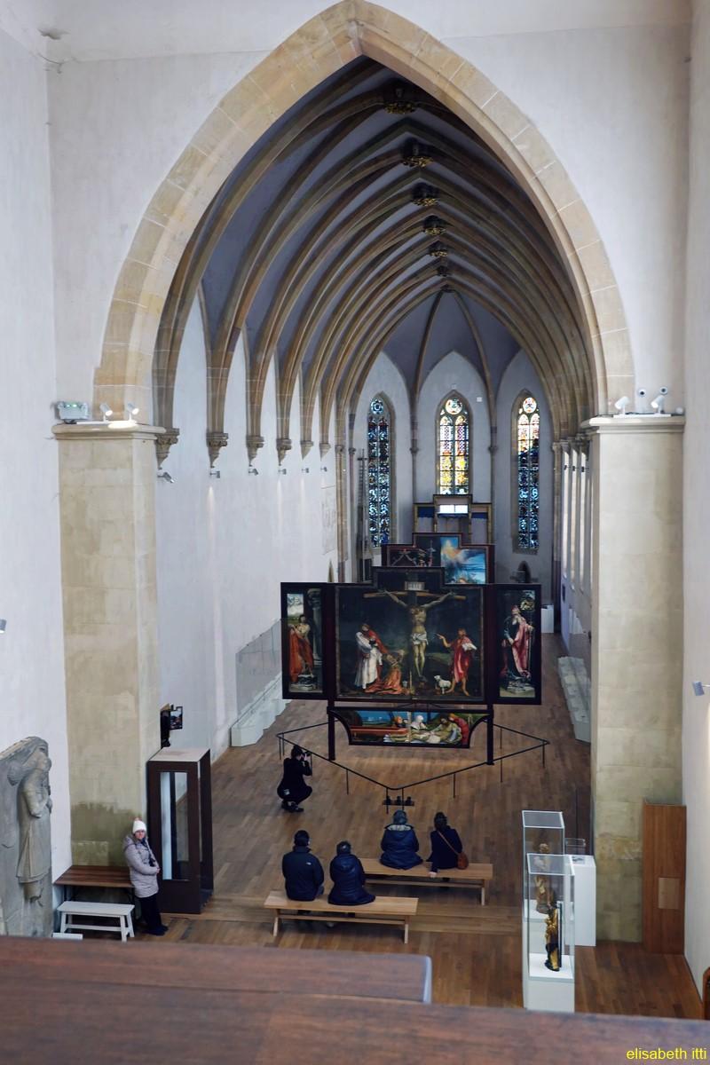 De mains et d'yeux au musée Unterlinden
