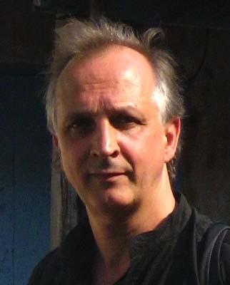 Didier Paquignon, dans son atelier