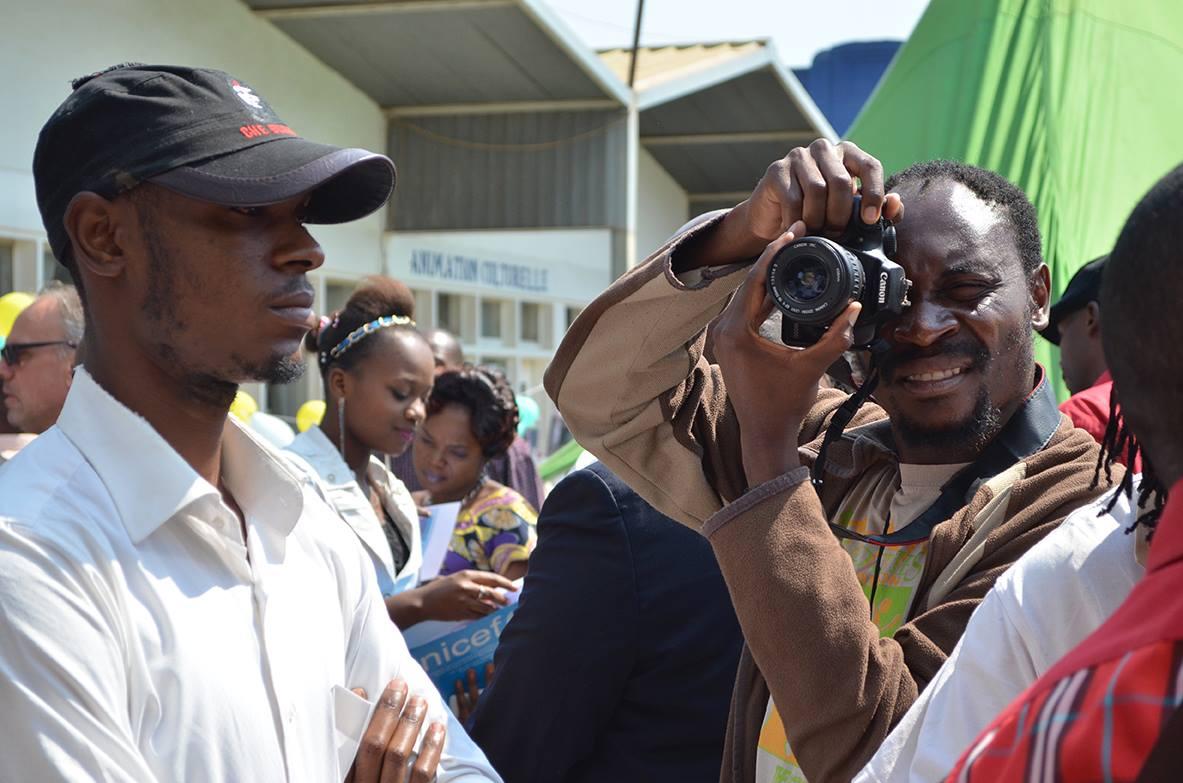 Georges Senga, photographe congolais